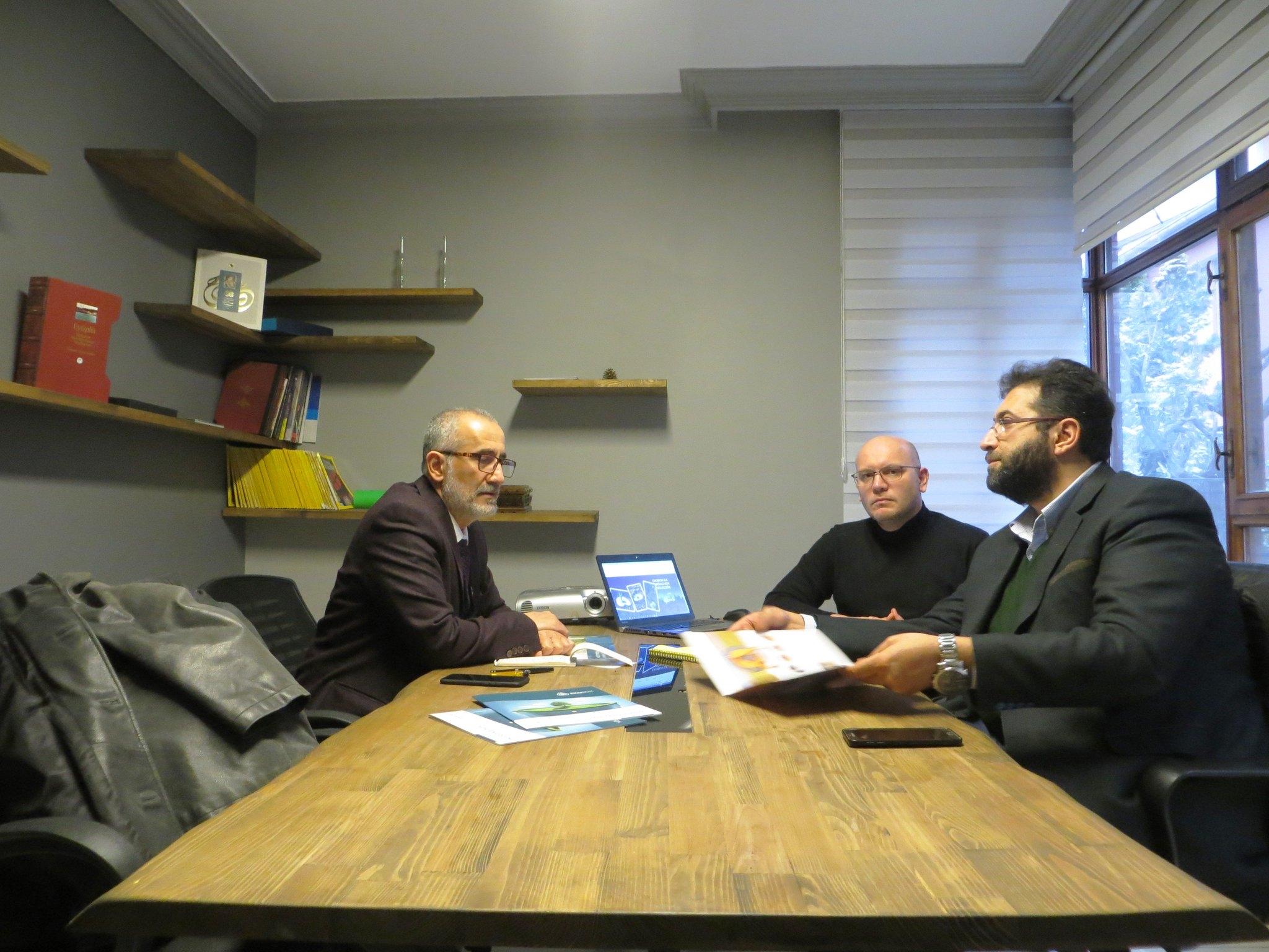 ANKA Danışma Grubu Başkanı Sayın Dr. Ayhan YASAN bey ile istişare toplantısı yapıldı.