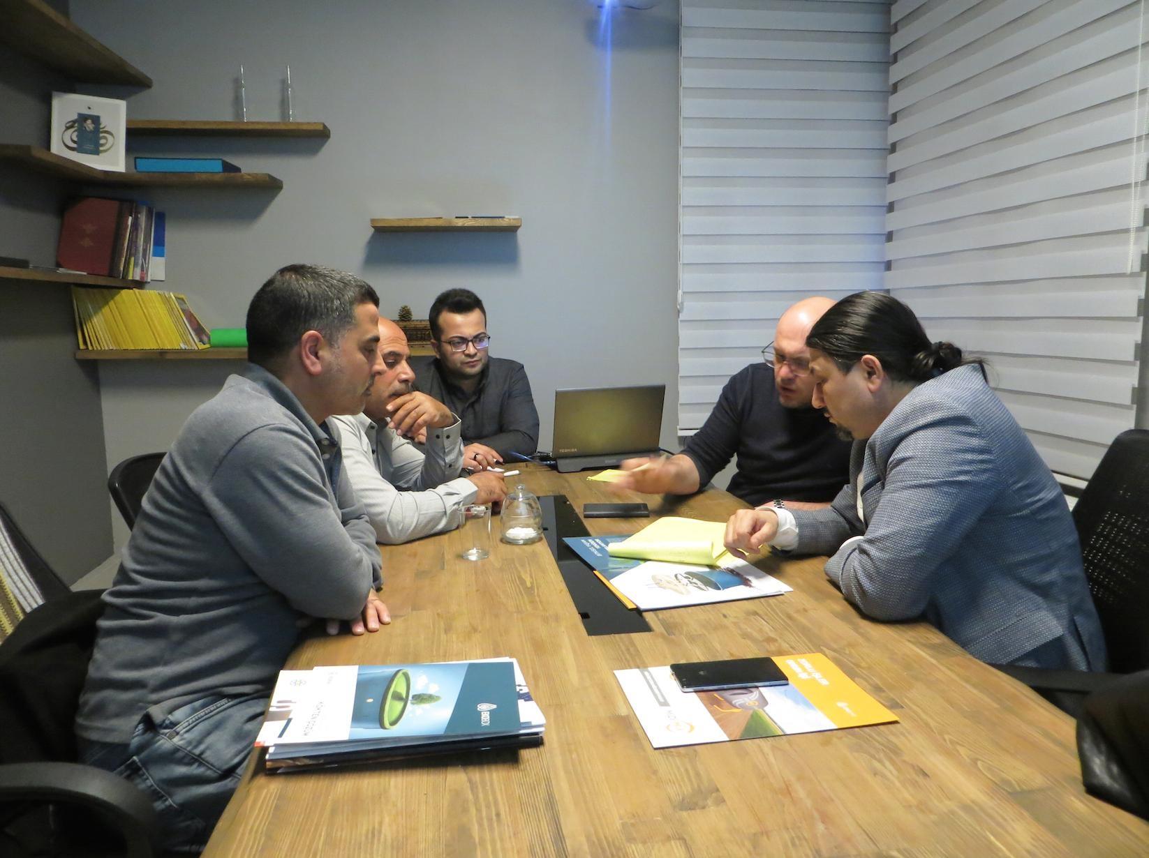 Filistin Ramallah'dan Ekobox distribitörlüğü için gelen misafirlerimizi ağırladık