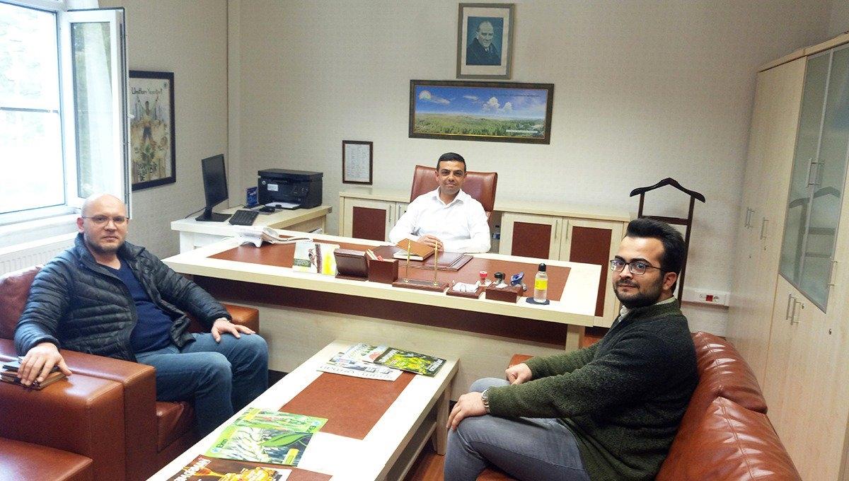 Toprak Su ve Çölleşme ile Mücadele Araştırma Enstitüsü Müdürü Sayın Mehmet Ali DÜNDAR bey ile EKOBOX Denemeleri hakkında istişare ziyareti gerçekleştirildi